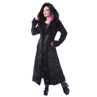 Women's coat POIZEN INDUSTRIES - KARLYN - BLACK, POIZEN INDUSTRIES