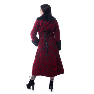 Women's coat POIZEN INDUSTRIES - KASTE - RED, POIZEN INDUSTRIES