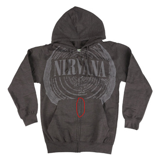 hoodie men's Nirvana - CIRCLES - PLASTIC HEAD, PLASTIC HEAD, Nirvana