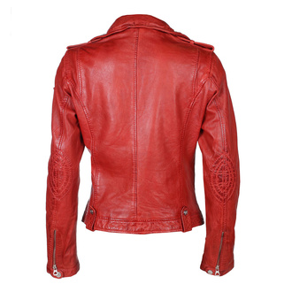 Women's jacket (metal jacket) GGFamos LAMAXV - red, NNM