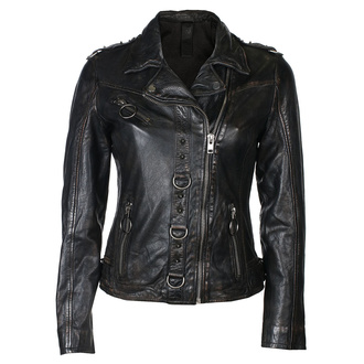 Women's jacket (metal jacket) G2GPunk LAFOV - black, NNM
