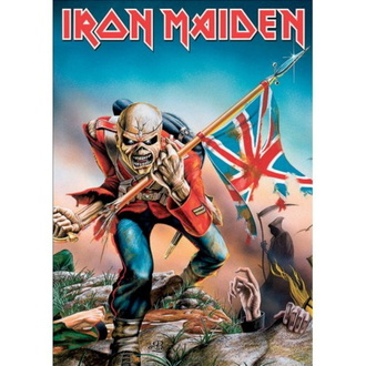 Postcard IRON MAIDEN - The Trooper - ROCK OFF, ROCK OFF, Iron Maiden