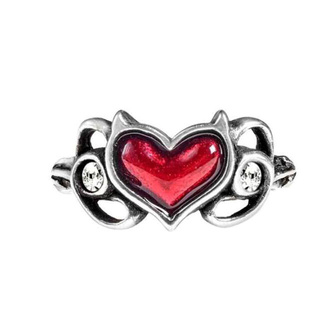 Ring ALCHEMY GOTHIC - Little Devil Heart - R238