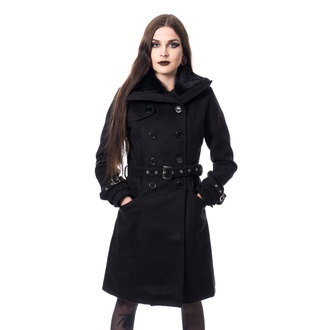 women's coat Poizen Industries - LUTANA - BLACK - POI948