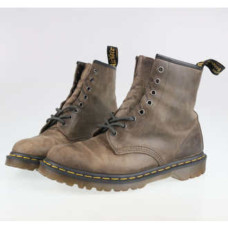 Boots DR. MARTENS - 8 hole - 1460 - Dark taupe - Orleans - DM23167302 - DAMAGED - MA474