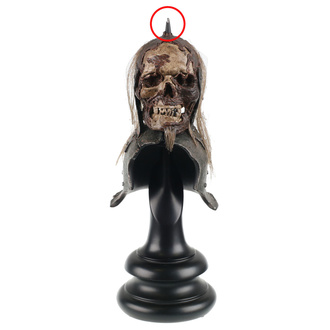 figurine Lord of the Rings - Lord of the Rings Replica Skull Trophy Helm of the Orc Lieutenant - WETA860402116 - DAMAGED, NNM, Lord Of The Rings