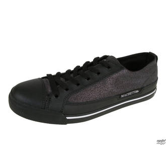 low sneakers men's - Matthew - MACBETH - BLACK/METALLIC