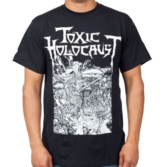 t-shirt metal men's Toxic Holocaust - Nuke The Cross - INDIEMERCH, INDIEMERCH, Toxic Holocaust