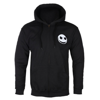 Men's hoodie Nightmare Before Christmas - Skull Pocket - Black - BILNBC00027-MN-ZIPH-BLK