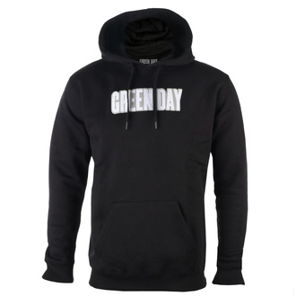 hoodie men's Green Day - Logo & Grenade Applique - ROCK OFF, ROCK OFF, Green Day