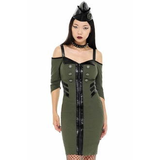 Women's dress by KILLSTAR - Miss Stardust - KHAKI - KSRA002419