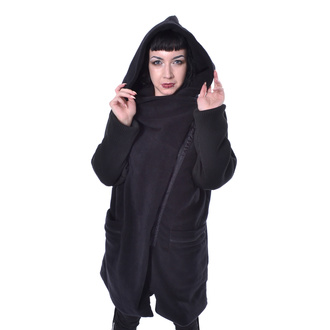 women's coat INNOCENT - MISTY - BLACK - POI947