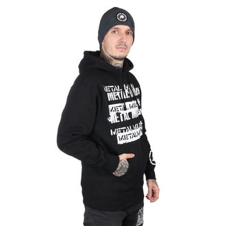 hoodie men's - CRATE BLK - METAL MULISHA, METAL MULISHA