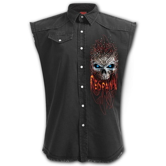 Men's sleeveless shirt (vest) SPIRAL - RESPAWN - Black, SPIRAL