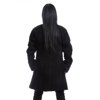 Men's coat POIZEN INDUSTRIES - MONARCH - BLACK VELVET, POIZEN INDUSTRIES