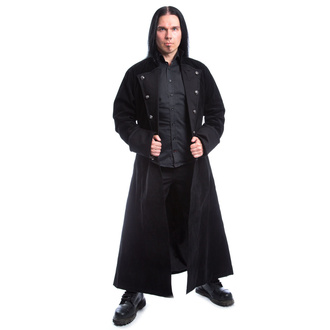 Men's coat POIZEN INDUSTRIES - MONARCH X - BLACK VELVET, POIZEN INDUSTRIES