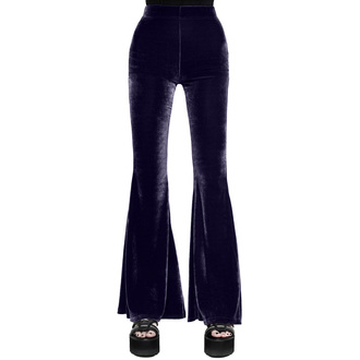 Women's pants KILLSTAR - Moondance Bell - PLUM - KSRA002562