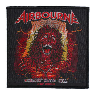 Patch Airbourne - Breakin Outa Hell - RAZAMATAZ - SP2893