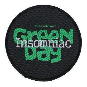 Patch Green Day - Insomniac - RAZAMATAZ, RAZAMATAZ, Green Day