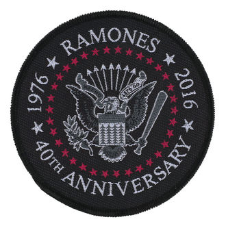 patch RAMONES - 40TH ANNIVERSARY - RAZAMATAZ - SP2870