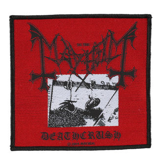 patch MAYHEM - DEATHCRUSH - RAZAMATAZ, RAZAMATAZ, Mayhem
