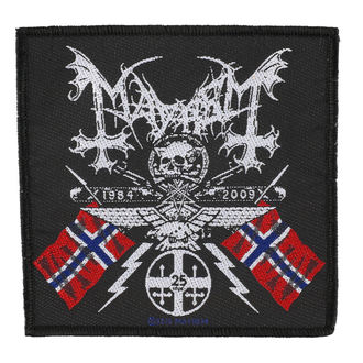 patch MAYHEM - COAT OF ARMS - RAZAMATAZ, RAZAMATAZ, Mayhem