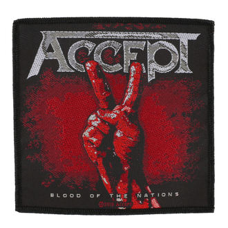 patch ACCEPT - BLOOD OF THE NATIONS - RAZAMATAZ, RAZAMATAZ, Accept