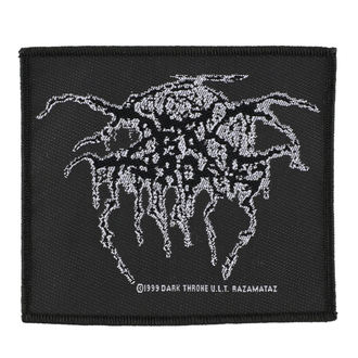 patch DARKTHRONE - LUREX LOGO - RAZAMATAZ, RAZAMATAZ, Darkthrone