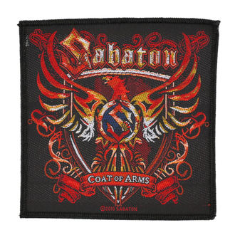 patch SABATON - COAT OF ARMS - RAZAMATAZ, RAZAMATAZ, Sabaton