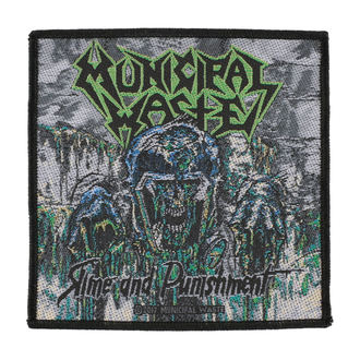 patch MUNICIPAL WASTE - SLIME AND PUNISHMENT - RAZAMATAZ, RAZAMATAZ, Municipal Waste