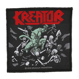patch KREATOR - PLEASURE TO KILL - RAZAMATAZ, RAZAMATAZ, Kreator