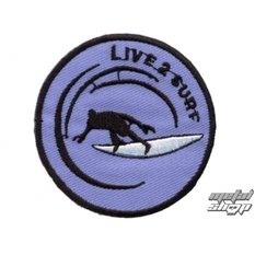 iron-on patch Live 2 Surf - 67173-024
