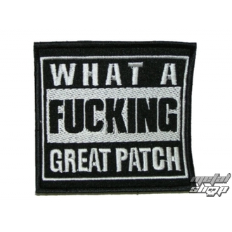 patch What a Fucking Great Patch 1