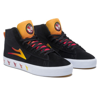 shoes Lakai x Black Sabbath - Never Say Die - Newport Hi - black gradient suede, Lakai x Black Sabbath, Black Sabbath