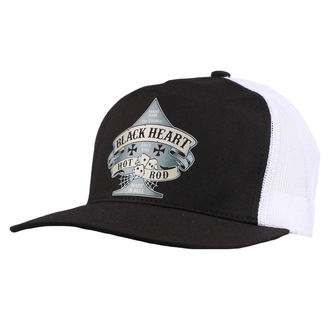 cap BLACK HEART - BELL - WHITE, BLACK HEART