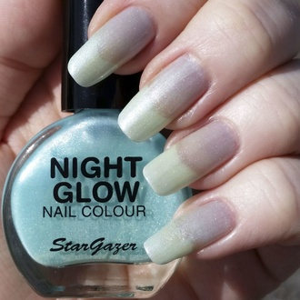 Nail polish STAR GAZER - Glow In The Dark - Glow Jade, STAR GAZER
