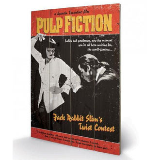 Wooden painting Pulp Fiction - (Twist Contest) - PYRAMID POSTERS - SW10496P
