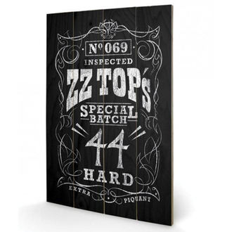 Wooden painting ZZ Top - (Special Batch) - PYRAMID POSTERS, PYRAMID POSTERS, ZZ-Top