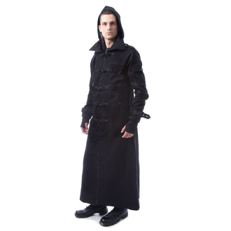 Men's coat POIZEN INDUSTRIES - OTIS - BLACK, POIZEN INDUSTRIES