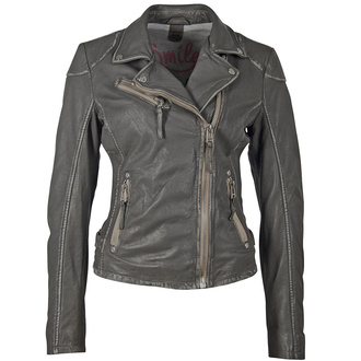 Women's (biker) jacket PGG W20 LABAGV - DARK GREY - M0012814