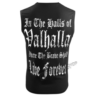 Top Men's VICTORY OR VALHALLA - BURNING DOGMAS, VICTORY OR VALHALLA