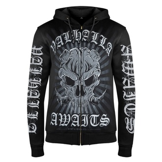 Men's hoodie VICTORY OR VALHALLA - DEAMON, VICTORY OR VALHALLA