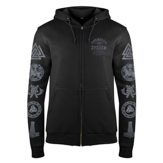 Men's hoodie VICTORY OR VALHALLA - THOR'S FIGHT, VICTORY OR VALHALLA
