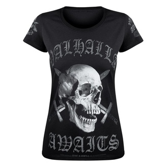 Women's t-shirt VICTORY OR VALHALLA - SKULL, VICTORY OR VALHALLA