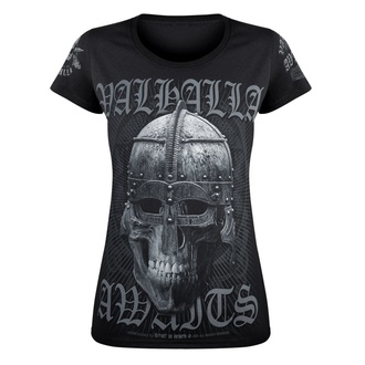 women's t-shirt VICTORY OR VALHALLA - VIKING, VICTORY OR VALHALLA