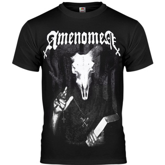 t-shirt hardcore men's - DEVIL'S BIBLE - AMENOMEN - OMEN033KM