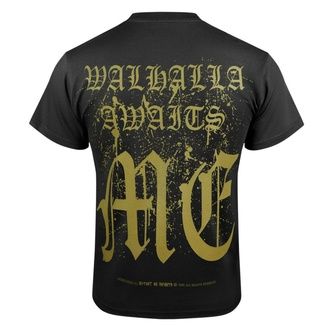 Men's t-shirt VICTORY OR VALHALLA - CROW SKULL, VICTORY OR VALHALLA