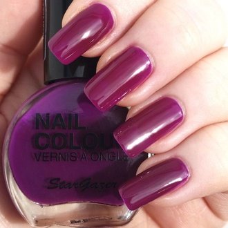 polish to nail STAR GAZER - Neon Violet, STAR GAZER