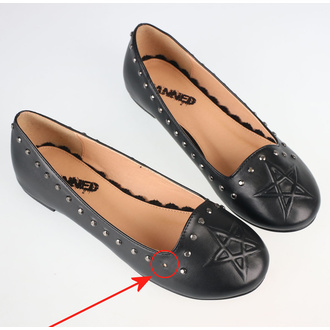 Women's shoes (ballerinas) BANNED - BND229BLK - DAMAGED - MA446