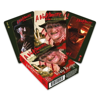 playing cards Nightmare on Elm Street - Freddy, NNM, A Nightmare on Elm Street